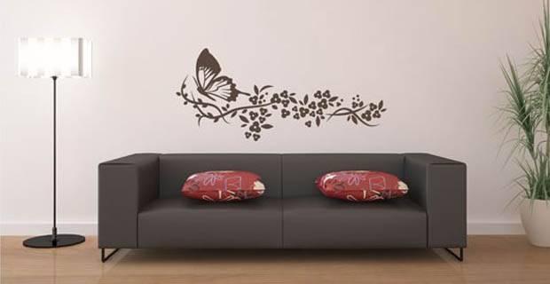Consejos para aplicacion y cuidado de vinilos de pared for Pegatinas decorativas pared ikea