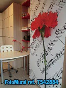 Fotomurales fotomural tienda online vinilo y papel for Vinilos decorativos musicales baratos